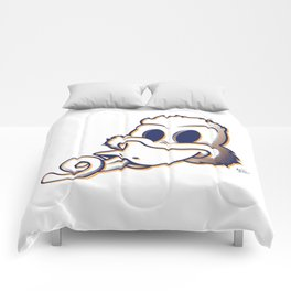 Pendemonium Duck by Madelyn DiPasquale Comforters