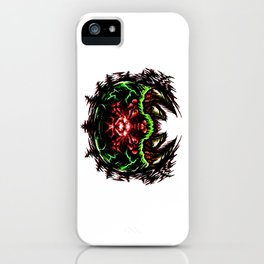 Super Metroid: Angry Baby Graphic iPhone Case