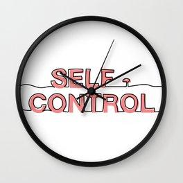 Self - Control Wall Clock