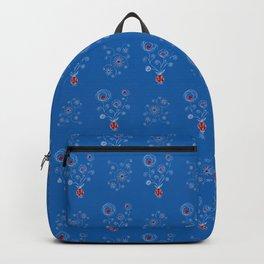 Bulb Flower Pattern Backpack