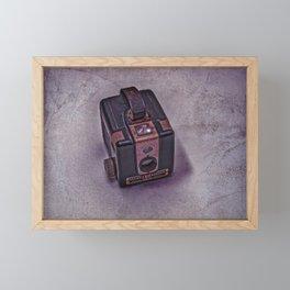Old Brownie Camera Framed Mini Art Print