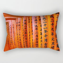 Inari shrine Rectangular Pillow