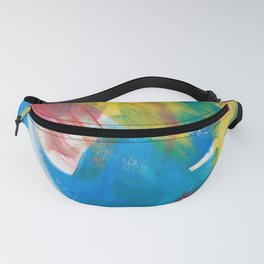Abstract Artwork Colourful #4 Fanny Pack