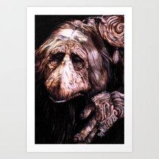 A Mystic from Dark Crystal Art Print