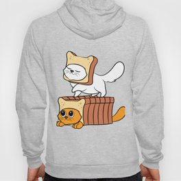 """Cute and adorable """"Purebread Cats"""" Tee design. Perfect gift for your family and friends this holiday Hoody"""