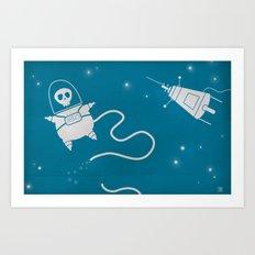Dead in Space Art Print