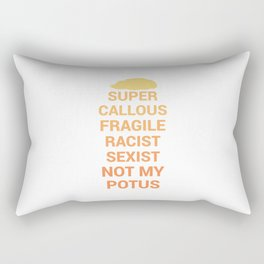 Not My POTUS Rectangular Pillow