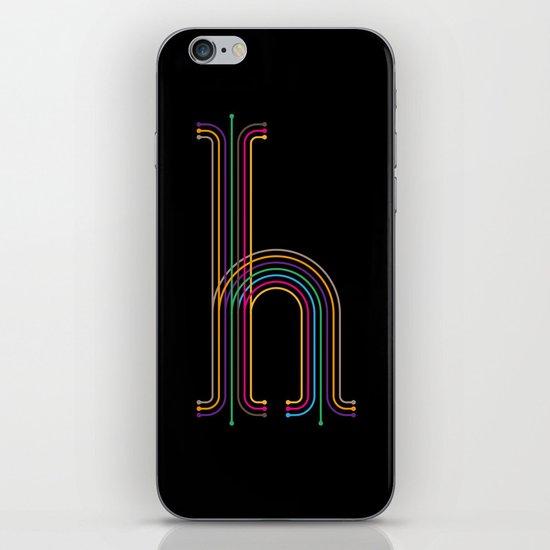 H like H iPhone & iPod Skin