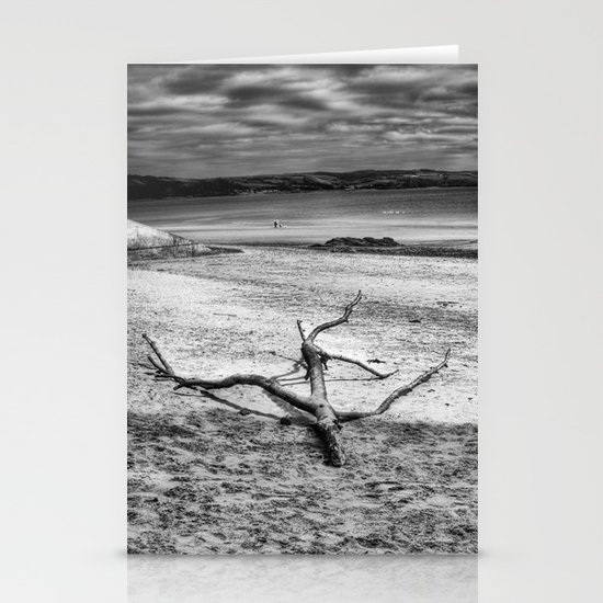 Driftwood 3 mono Stationery Cards