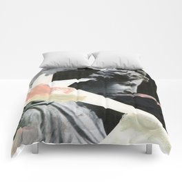 Untitled (Painted Composition 3) Comforters