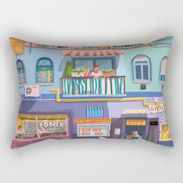 BP frontage Rectangular Pillow
