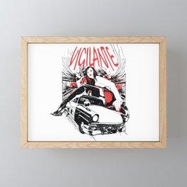 Vigilante Framed Mini Art Print