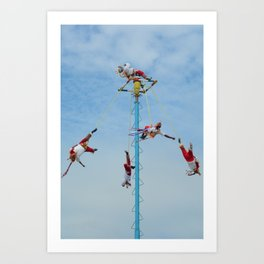 Flying artist collection _01 Art Print