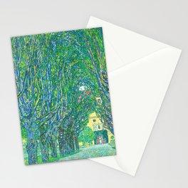 Gustav Klimt - Allee im Park von Schloss Kammer (new editing) Stationery Cards