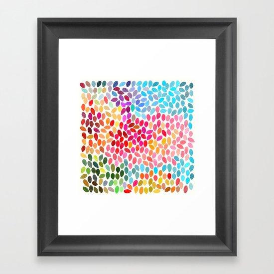 rain 6 Framed Art Print