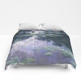 Monet - Water Lilies (Nymphéas), 1907 Comforters