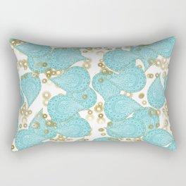 Paisley and Lacey Rectangular Pillow