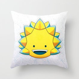 S U N G I A N T - I Throw Pillow