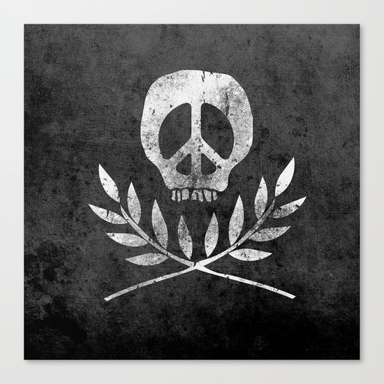 Peace is Death Canvas Print