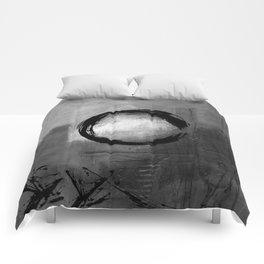 Enso No.MM13J by Kathy Morton Stanion Comforters