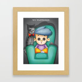hipnosis... Framed Art Print