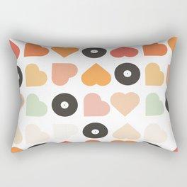 Music : Love Rectangular Pillow