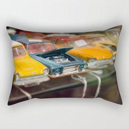 Car Trouble Rectangular Pillow