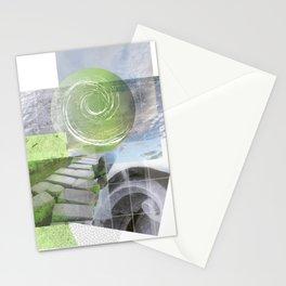 garden steps Stationery Cards
