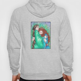 Merida and Elinor (version 2) Hoody