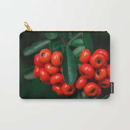 Red Wild Berries Carry-All Pouch