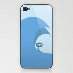 WTF? Surf! iPhone & iPod Skin