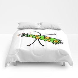 Virus Doodle Comforters