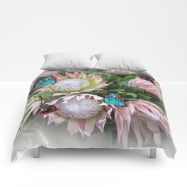 The King Protea Comforters