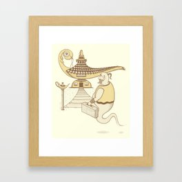Home Magical Home Framed Art Print