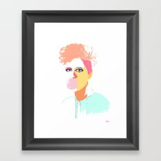 Gum Framed Art Print