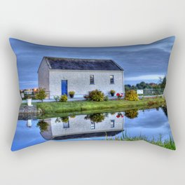 Ticket House on The Royal Canal Rectangular Pillow