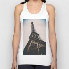 Eiffel Tower Unisex Tank Top