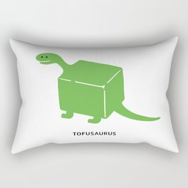Tofusaurus Rectangular Pillow