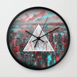 3d city Wall Clock