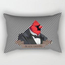 MR.RED CARDINAL Rectangular Pillow