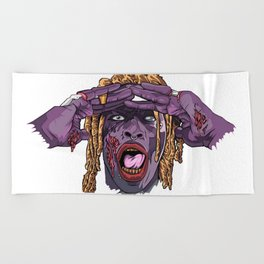 YOUNG THUG-ZOMBIE Art Beach Towel