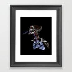 Blood, Breath, Bone Framed Art Print