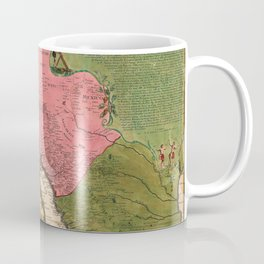 Map Of California 1720 Coffee Mug