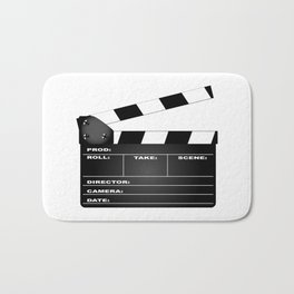 Clapperboard Bath Mat