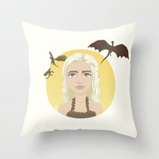 Where are my dragons? Throw Pillow