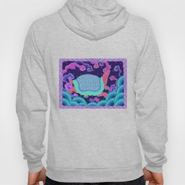 Colourful Oriental Turtle Decoration Patterns Hoody