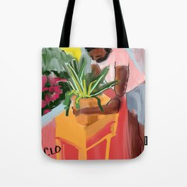 let's make this house a home Tote Bag