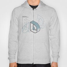 The Exploded Alphabet / D Hoody