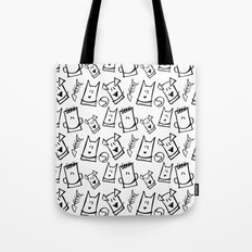 Puppies, kittens, cats, dogs & them! Tote Bag