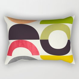 Playground II Lemon Lime Grapefruit Orange Rectangular Pillow